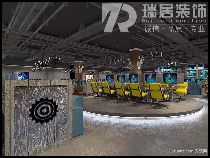 芜湖沈巷金水滴网吧工业风装修效果图其他装修效果图实景图