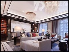 中式风格-芜湖世茂滨江154平中式风格装修效果图