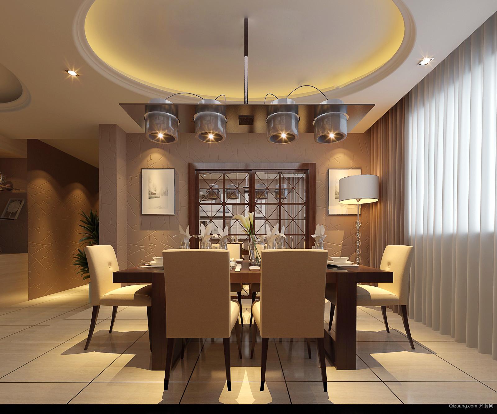 枫桥尚城现代简约装修效果图实景图