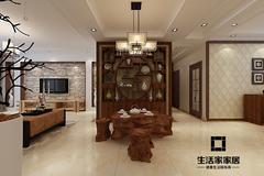 中式风格-银丰唐郡·桂花园