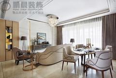 其他-芜湖张家山领秀城77平法式风格装修效果图案例