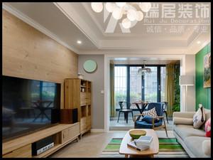 芜湖新华联梦想城89平北欧风格装修效果图