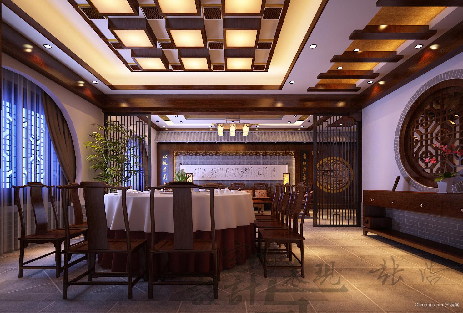 宾馆古典风格装修效果图实景图