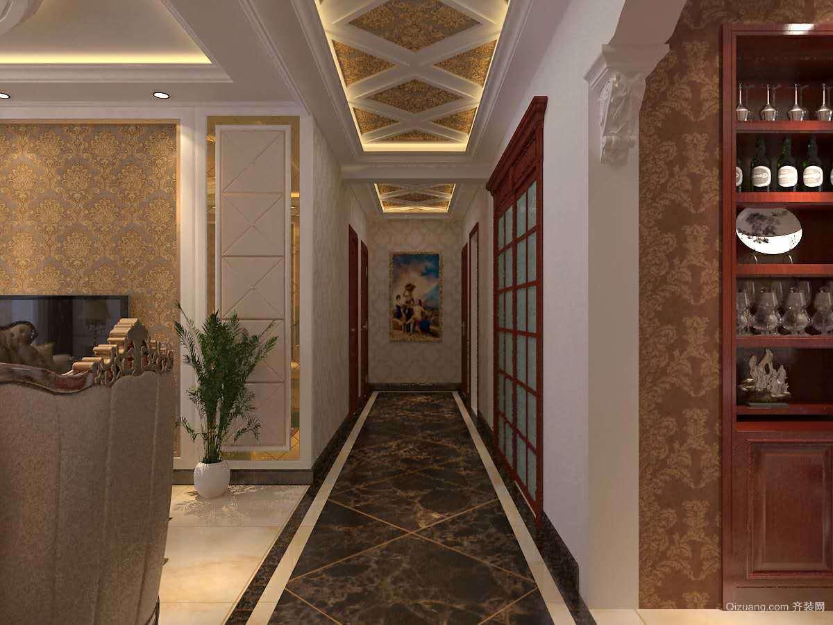怡水园中式风格装修效果图实景图