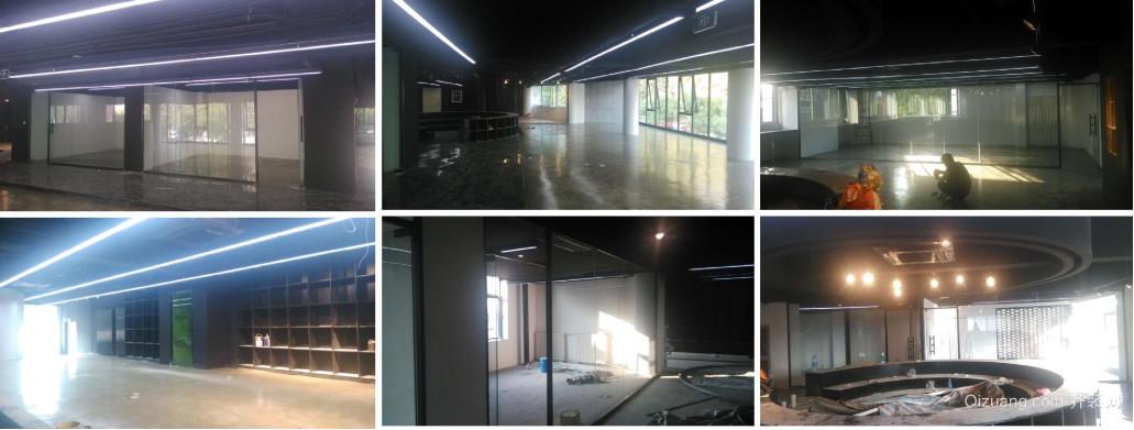 天津办公室现代简约2000平现代简约装修效果图实景图