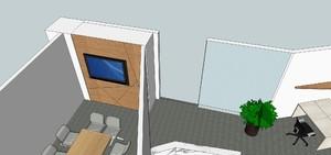 诺金 办公室 效果图 400平