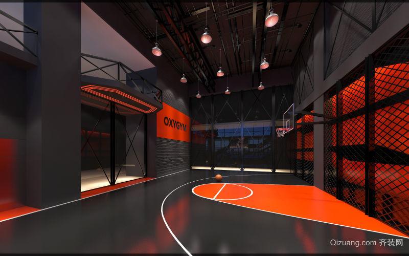 世贸天阶 健身房 4000平现代简约装修效果图实景图