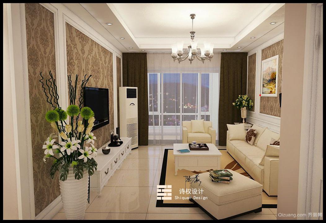 玫瑰湾美式风格装修效果图实景图