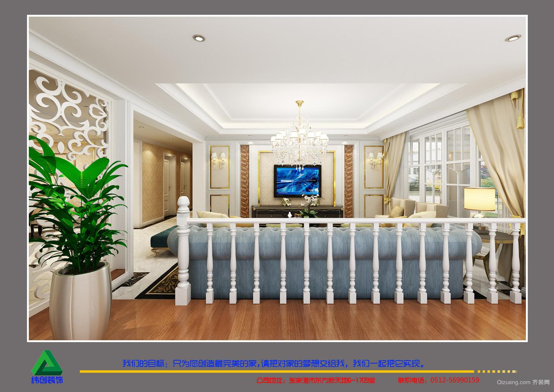 紫金国际现代简约装修效果图实景图