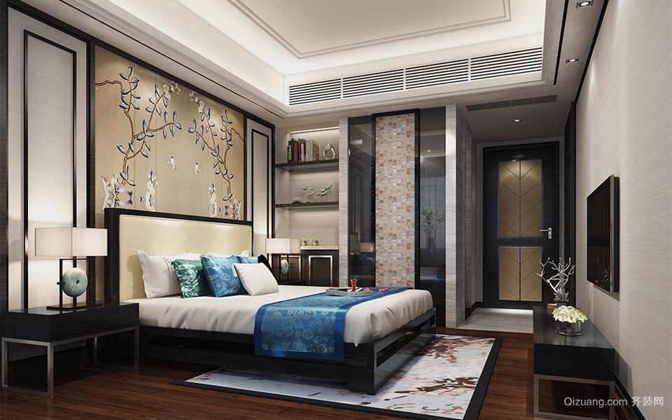 龙湖龙誉城中式风格装修效果图实景图