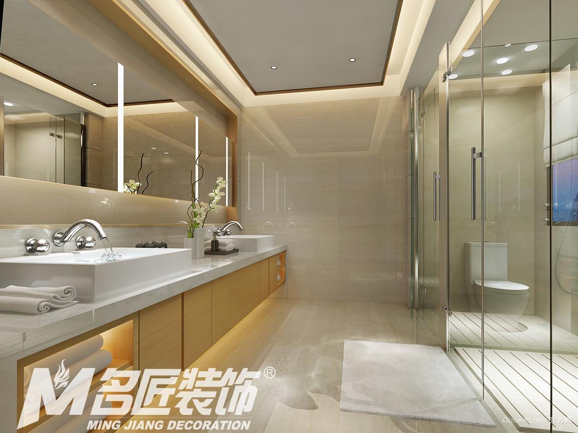 华南新城马联排别墅混搭风格装修效果图实景图