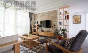 芜湖东方龙城104平日式风格装修效果图案例