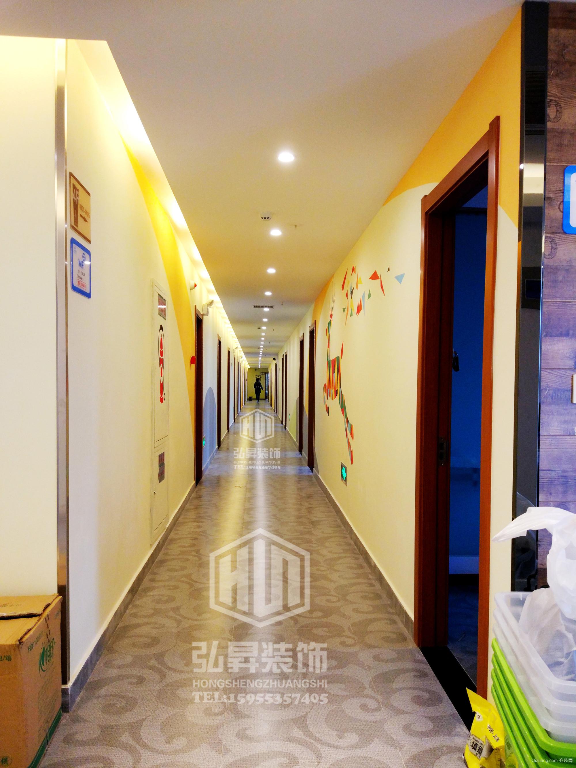 德胜广场玲珑宾馆实景图现代简约装修效果图实景图