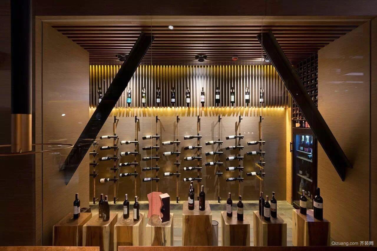 餐饮店混搭风格装修效果图实景图
