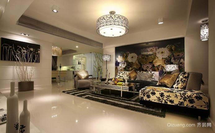 家佳新苑美式风格装修效果图实景图