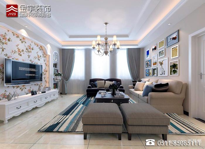 江南府邸古典风格装修效果图实景图