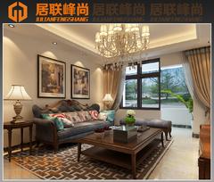 中式风格-户型效果图
