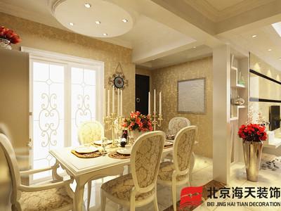鄂州吴王公馆129m²户型装修设计案例