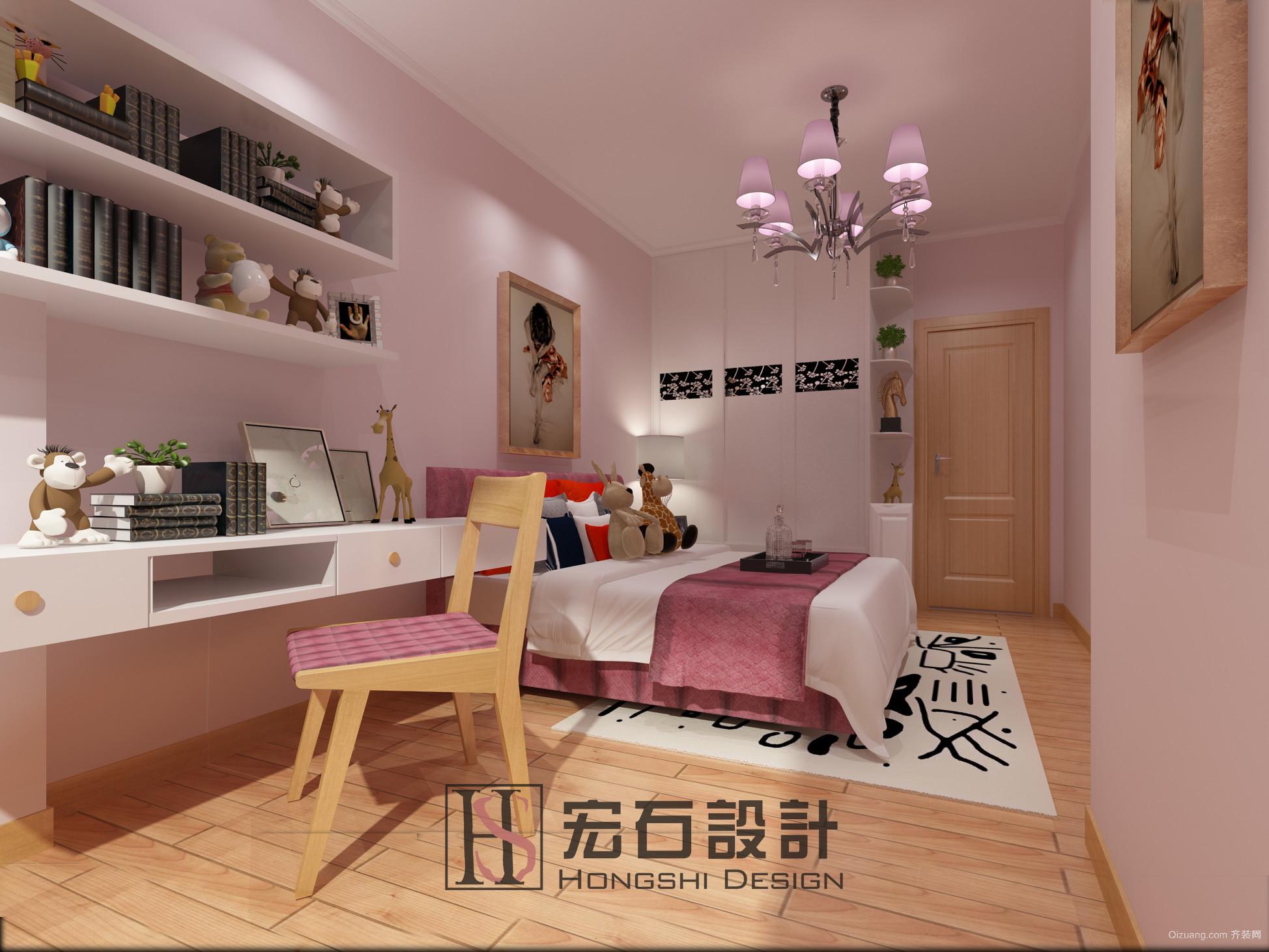 南海碧桂园中式风格装修效果图实景图