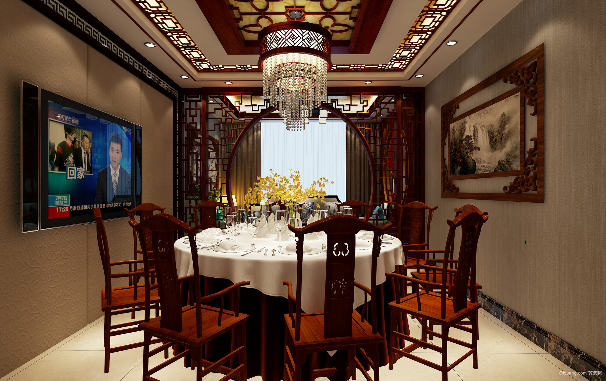 餐厅其他装修效果图实景图