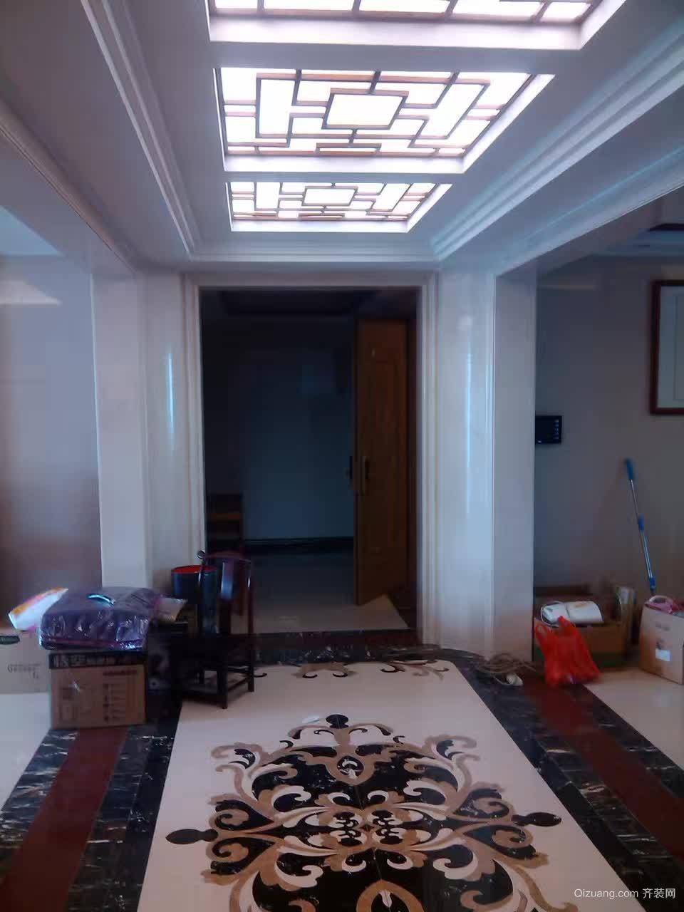 千灯湖一号公馆中式风格装修效果图实景图