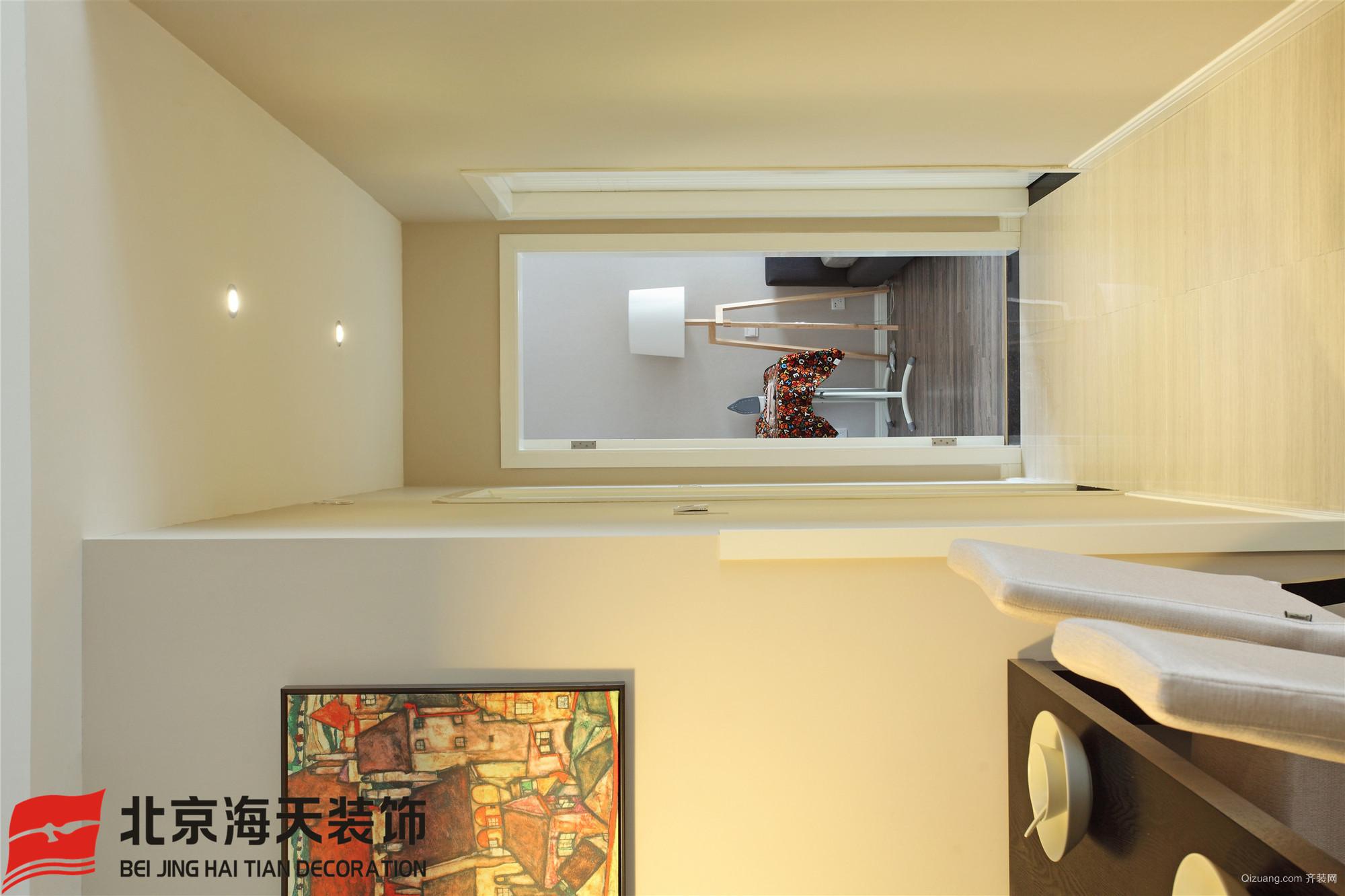 吴都阳光120户型案例现代简约装修效果图实景图