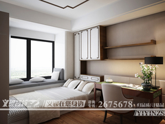 中式风格-金域蓝湾新中式设计
