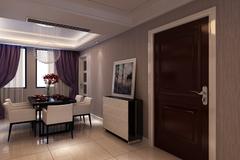 现代简约-白金湾三居室简约设计
