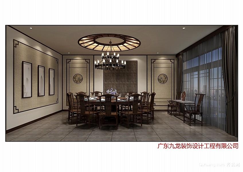 华阳湖中式风格装修效果图实景图