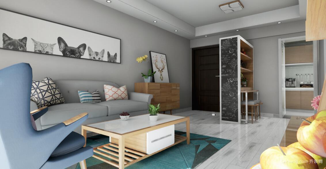 住宅公寓现代简约装修效果图实景图