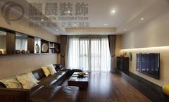 现代简约-芜湖东方龙城104平现代简约风格装修效果图案例