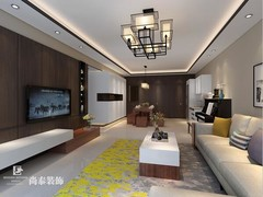 中式风格-深圳假日湾华庭