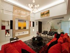 现代简约-形云流水-锦湖公寓