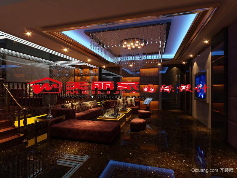 ktv时尚设计室内装修效果图现代简约装修效果图实景图
