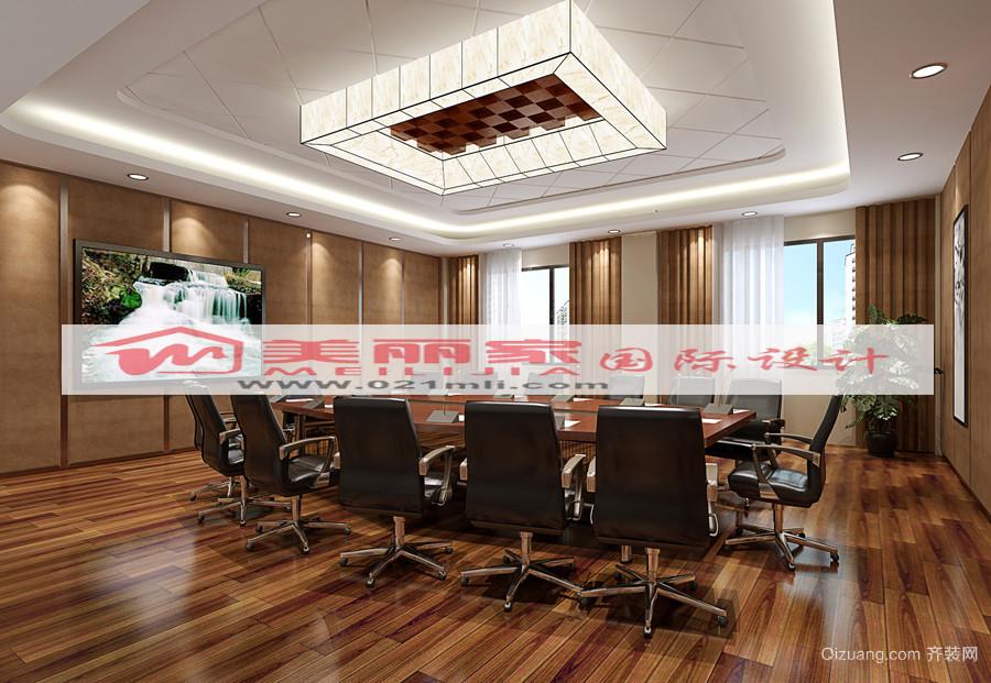 现代办公室装饰设计室内效果图现代简约装修效果图实景图