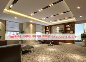 现代办公室装饰设计室内效果图