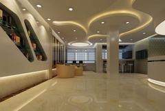 中式风格-医疗美容院前台