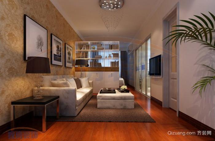 环卫公寓现代简约装修效果图实景图