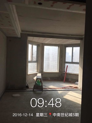 中南5期8#1804杨女士雅居施工过程分享