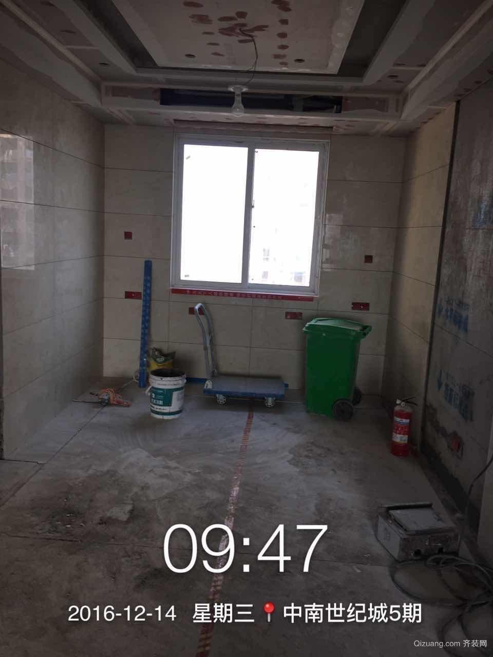 中南5期8#1804杨女士雅居施工过程分享田园风格装修效果图实景图