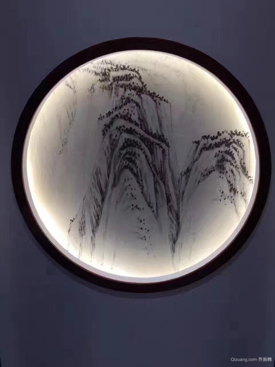 复地温莎堡别墅中式风格装修效果图实景图