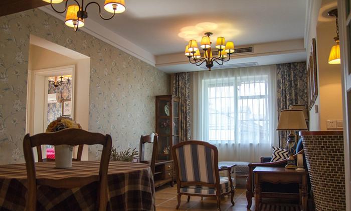 家装美式风格装修效果图实景图