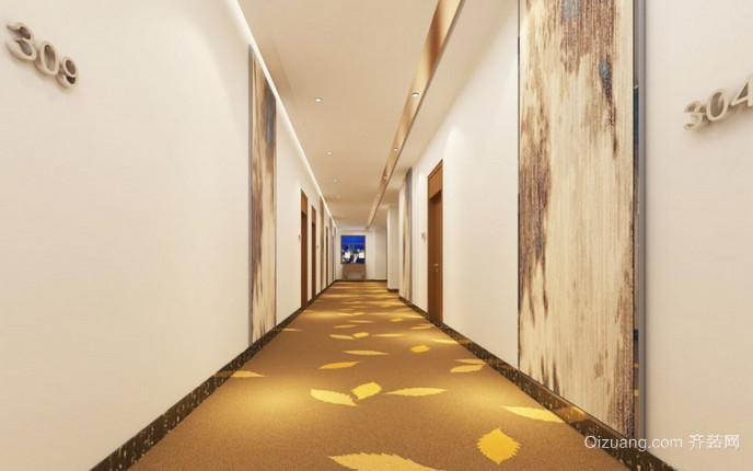 昆仑大酒店现代简约装修效果图实景图