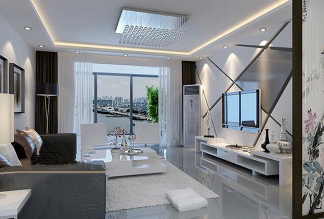 巴黎都市现代简约装修效果图实景图