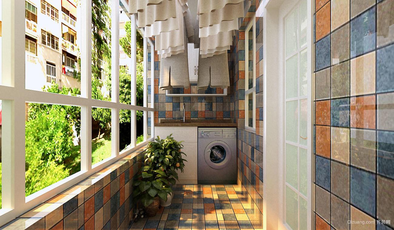 冠鲁·明德花园混搭风格装修效果图实景图