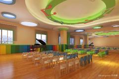 金太阳幼儿园现代简约装修案例