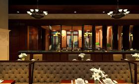 苏州金鸡湖畔西餐厅
