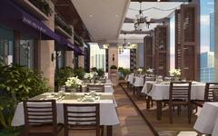混搭风格-苏州金鸡湖畔西餐厅
