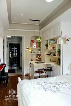 现代简约-幸福里单身公寓实景图