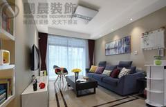 芜湖赭麓公馆87现代简约风格装修效果图案例